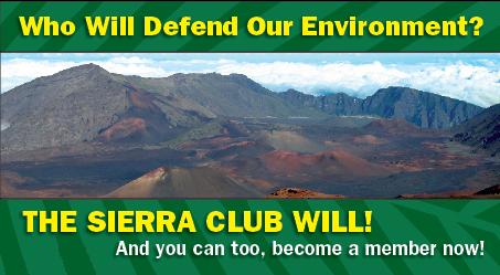 Sierra Club Membership Drive