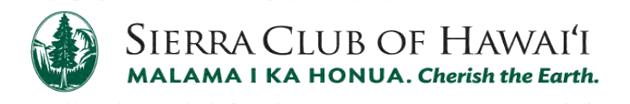Maui Sierra Club