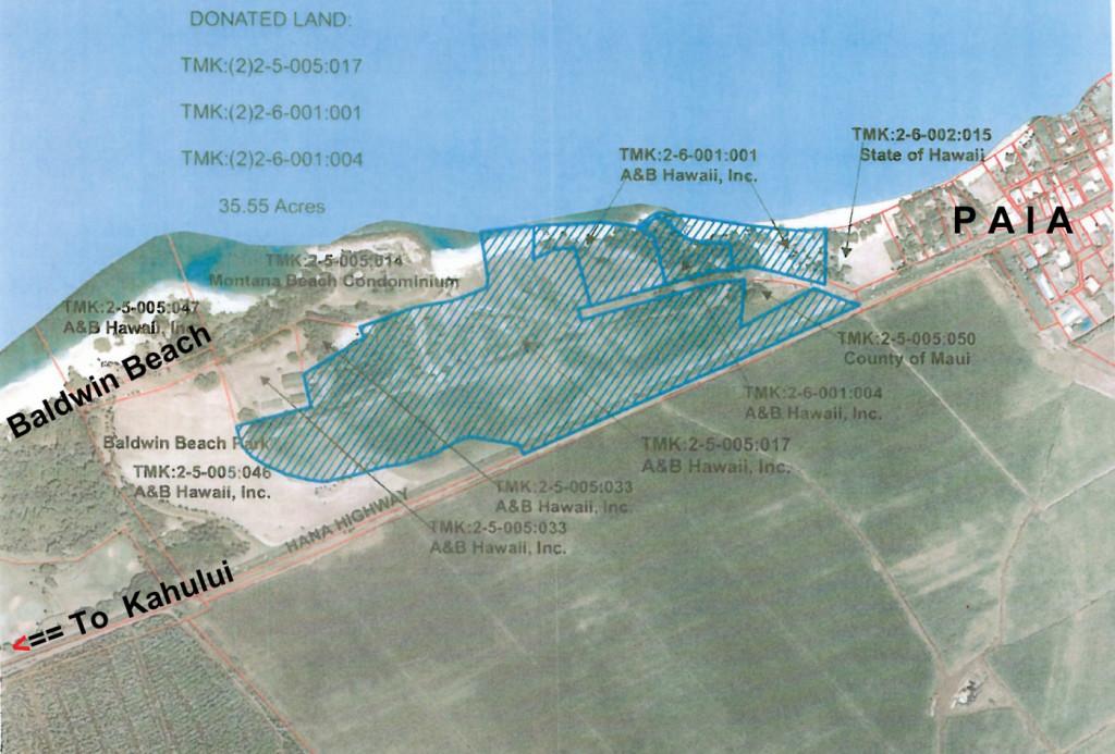 Baldwin Beach Lands - click for bigger view